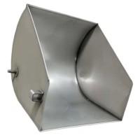 不锈钢食槽猪舍育肥食槽双面保育自由采食不锈钢食槽厂家