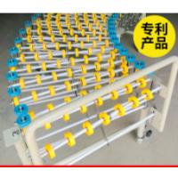 无动力滚筒输送机 辊道伸缩机 双链辊道输送机转弯滚筒输送机