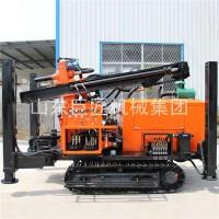 山西运城FY-200履带式气动水井钻机 气动钻井机潜孔钻机